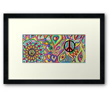 The Colours of Peace Framed Print