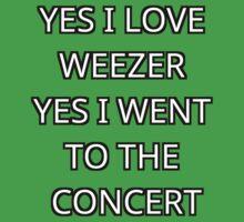 Weezer  Baby Tee