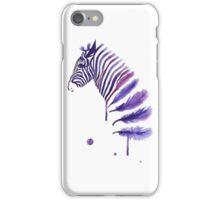 feather zebra iPhone Case/Skin