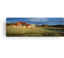Morning Light finds Coolamine Homestead, Kosciuszko National Park, New South Wales, Australia Canvas Print