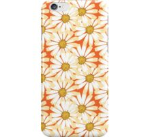 Pretty White Daisies Floral Pattern iPhone Case/Skin