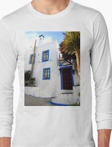 beautiful white house Long Sleeve T-Shirt