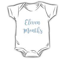 Eleven Months Old (Boy) One Piece - Short Sleeve