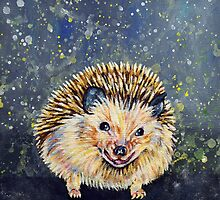Hedgehog - Robert by Rachelle Dyer