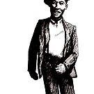 Happy Bluesman by Joel Tarling