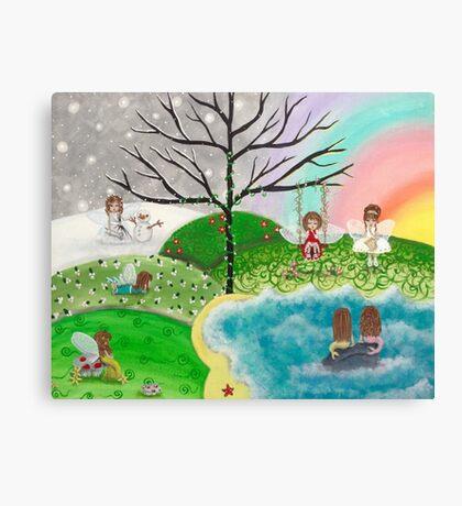 Season Fairies Canvas Print