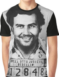 Escobar Mugshot Graphic T-Shirt