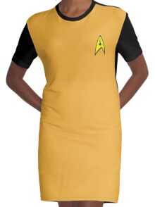 Commander Graphic T-Shirt Dress