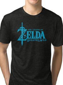 Breath of the Wild Logo Tri-blend T-Shirt