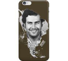 Pablo Escobar Mugshot Continent 2 iPhone Case/Skin