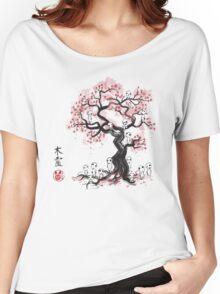 Forest Spirit Sumi-e Women's Relaxed Fit T-Shirt