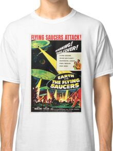 Earth vs. The Flying Saucers Classic T-Shirt