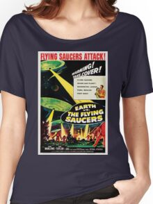 Earth vs. The Flying Saucers Women's Relaxed Fit T-Shirt