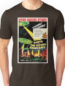 Earth vs. The Flying Saucers Unisex T-Shirt
