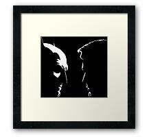 Batman v Superman Framed Print