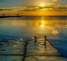 Wynnum at Sunrise by Karen Duffy