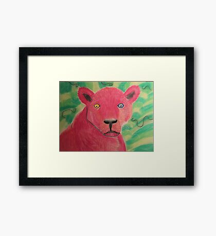 Pink Panther Framed Print