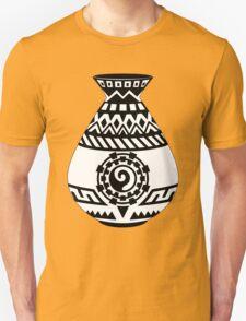 Southwestern Native American Pottery, Modern Minimalist Design Unisex T-Shirt