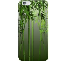 Green Bamboo Forest iPhone Case/Skin
