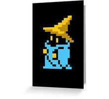 Black mage final fantasy Greeting Card