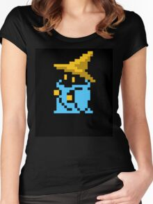 Black mage final fantasy Women's Fitted Scoop T-Shirt