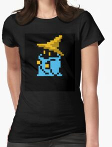 Black mage final fantasy Womens Fitted T-Shirt