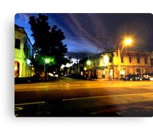 Brunswisk and Kerr Side By Night Metal Print