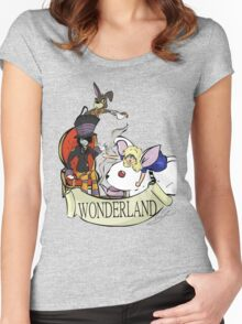 """""""Mad Tea Party"""" T-Shirt Women's Fitted Scoop T-Shirt"""
