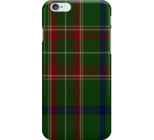 01901 Canadian Caledonian Hunting District Tartan  iPhone Case/Skin