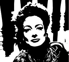Joan Crawford Has A Womans Face by Museenglish