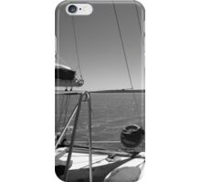 Sailing in Monkey Mia, Shark Bay iPhone Case/Skin