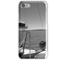 Sailing in Monkey Mia, Shark Bay iPhone Case/Skin