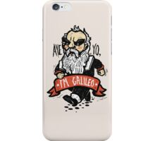 Galileo - Vintage Beard iPhone Case/Skin