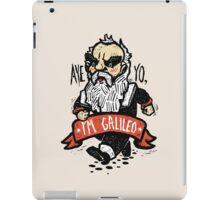 Galileo - Vintage Beard iPad Case/Skin