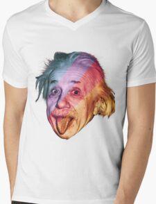 Pop Einstein Mens V-Neck T-Shirt
