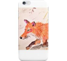 Trotting Fox iPhone Case/Skin