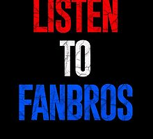 Listen To FanBros Red White & Blue by fanbrosshow