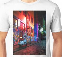 Evening in Hosier Lane Unisex T-Shirt