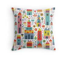 Fairytale Lane Throw Pillow