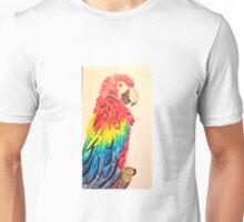 Rainbow Macaw Unisex T-Shirt