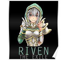 Kawaii Redeemed Riven Poster