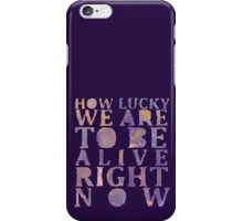 LUCKY - Hamilton (painted) iPhone Case/Skin