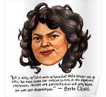 Berta Cáceres Poster