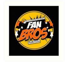 FanBros Full Logo Art Print
