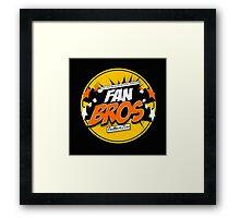 FanBros Full Logo Framed Print