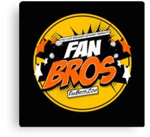 FanBros Full Logo Canvas Print