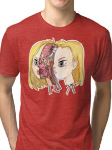 Android 18 Tri-blend T-Shirt