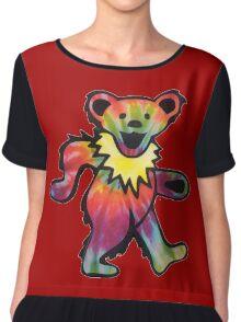 Grateful Dead Bear Chiffon Top