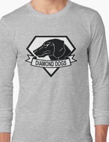 Diamond Dogs Metal Gear Solid Long Sleeve T-Shirt