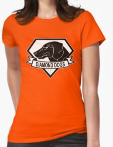 Diamond Dogs Metal Gear Solid Womens Fitted T-Shirt
